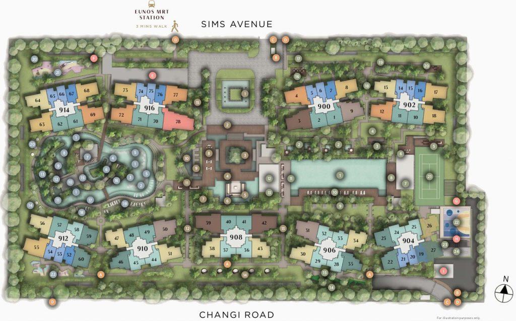 Parc Esta Condo Site Plan