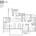 Penthouse 4BR+S PHS1 1572 sqft
