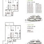 Treasure at Tampines 3 bedroom Premium floor plan