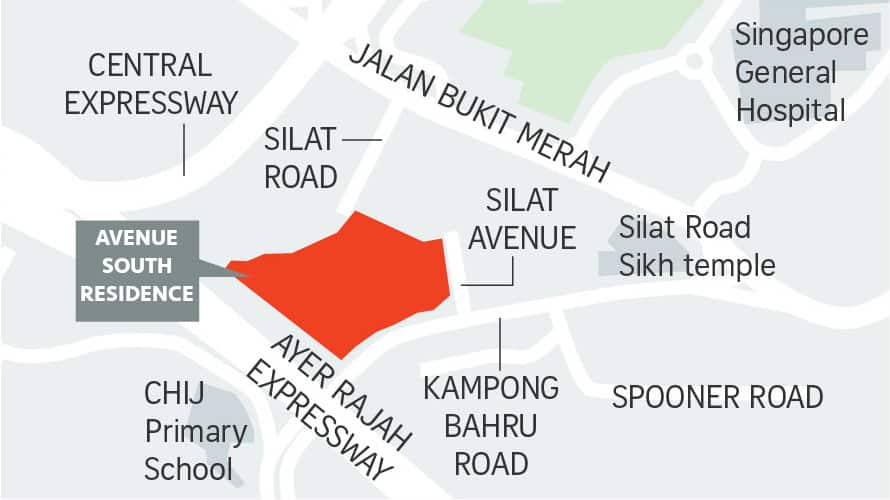 Avenue-South-Residence-Site-Location