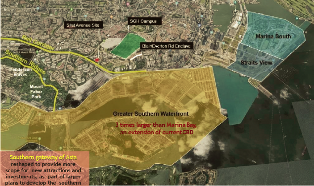 Ave South site and Greater Southern WaterFront