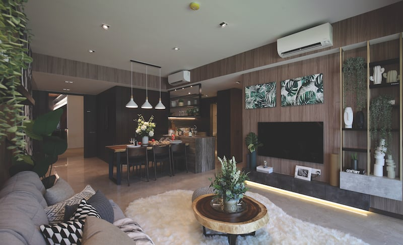 One Pearl Bank 3 Bedroom Showflat